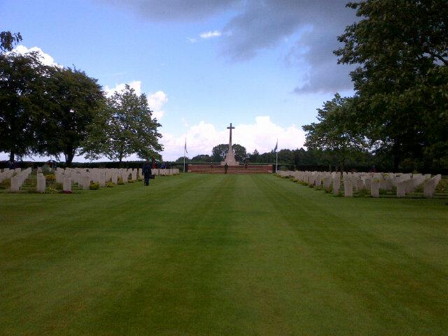 Groesbeek Cemetery day 3
