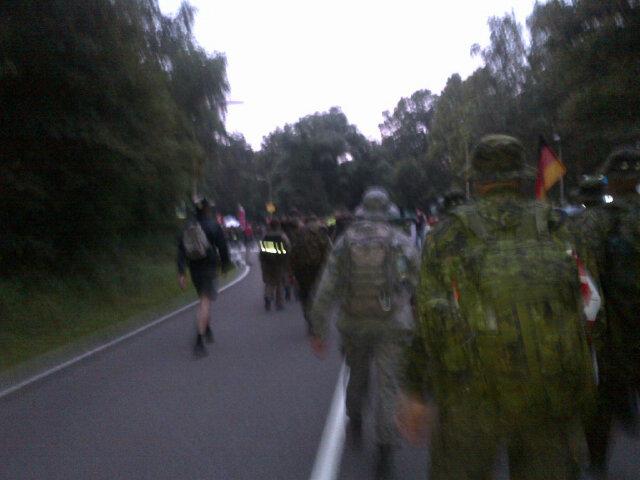 at 11 km