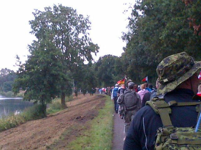 miles of walkers day 3